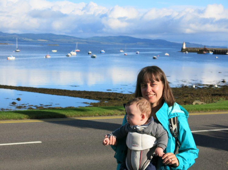 The K and I in bonny Scotland this summer